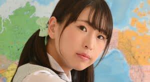夏木紫帆 白ハイソックスなプリスカ制服画像